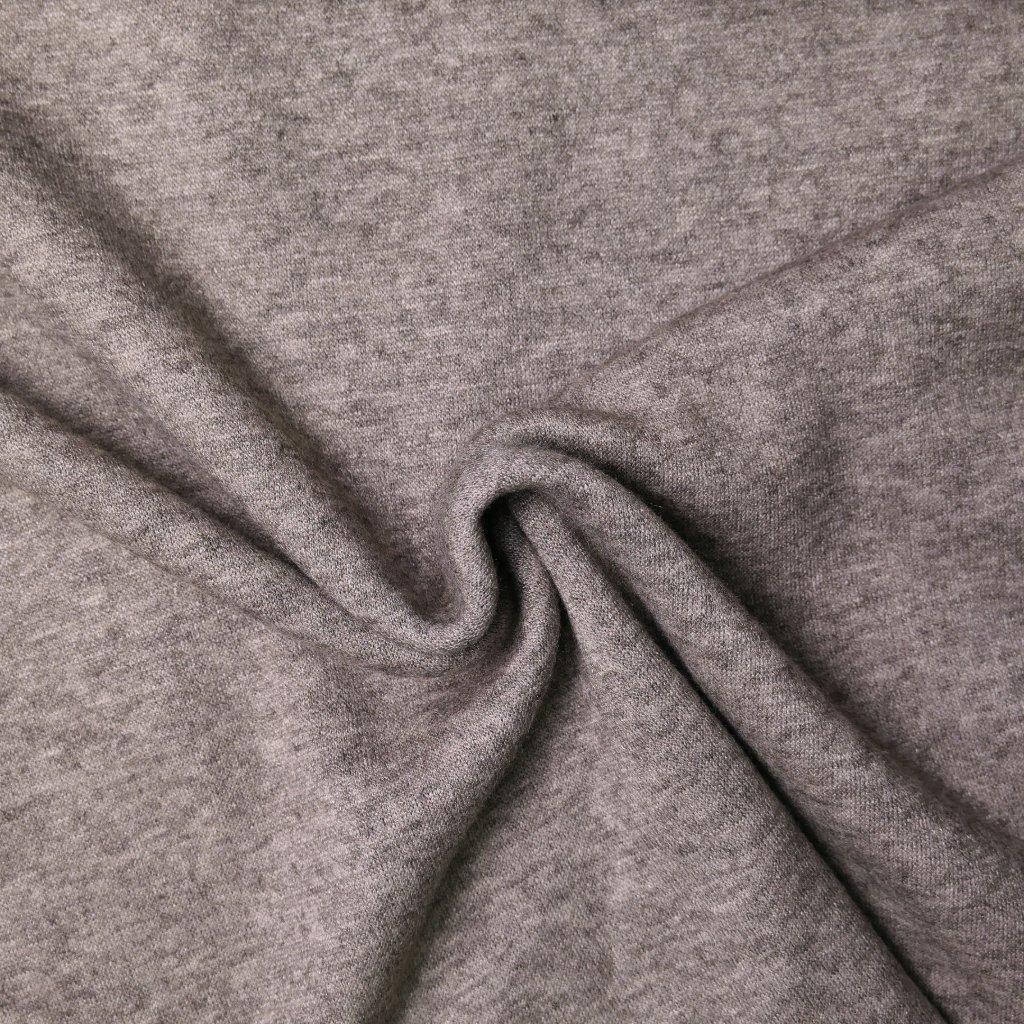 Úplet šedo-hnědý melírovaný