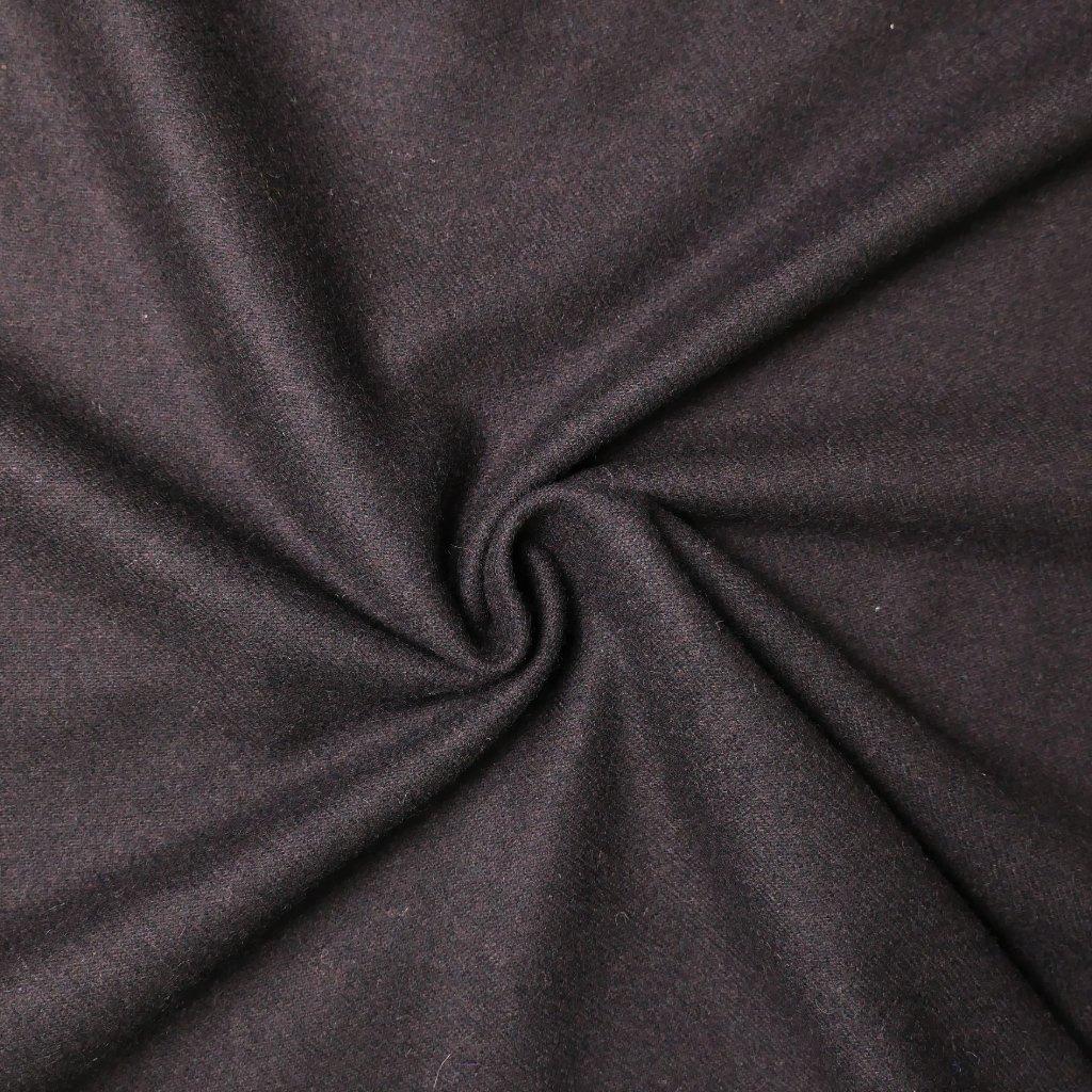 Kabátovina tmavě hnědá