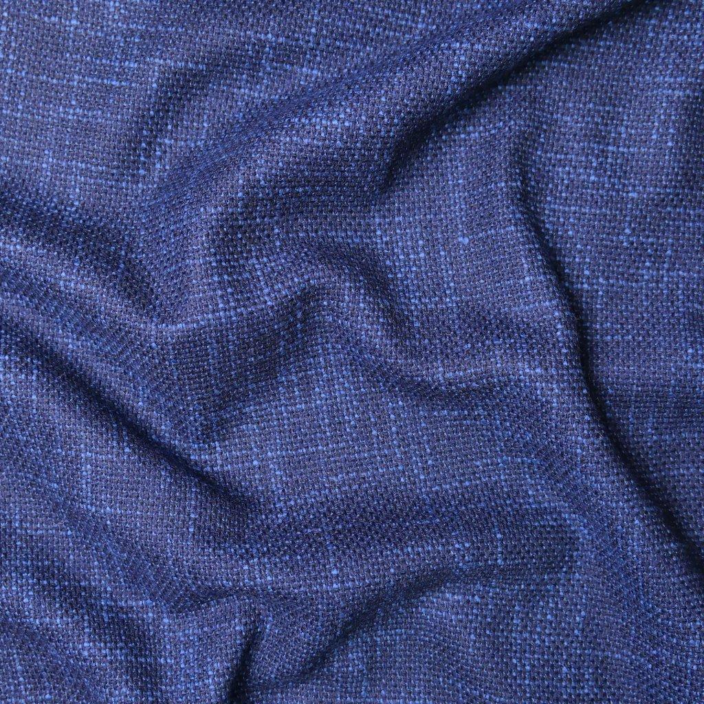 Kostýmovka modro-černá žíhaná