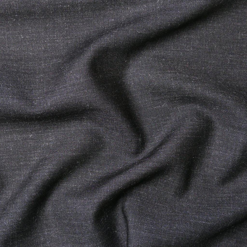 Kostýmovka tmavě šedá s melírem
