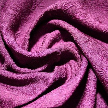 Brokát bez lesku fialový