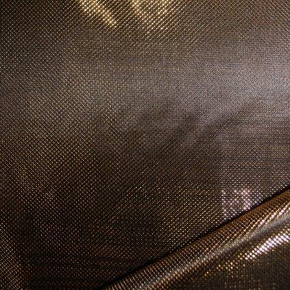 Lurexový úplet zlatočerný