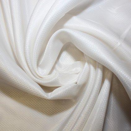 Podšívka bílá se vzorem
