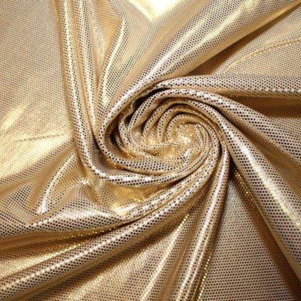 Plavkovina (lycra) zlatá