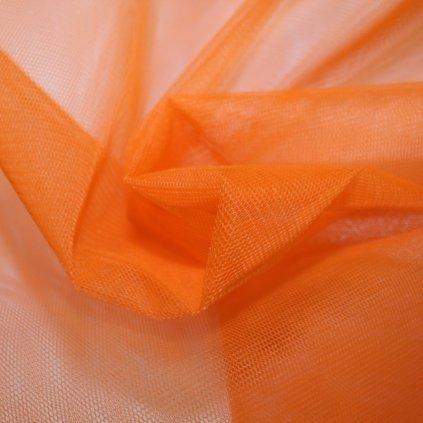 Tyl tuhý oranžový