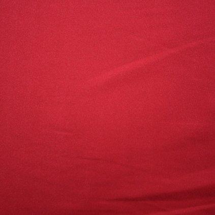 Hedvábí saténové jednobarevné světle červené