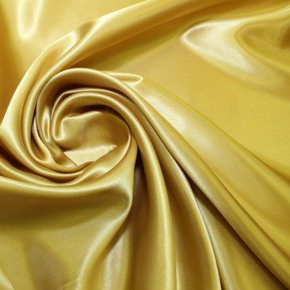 Podšívka viskózová žlutozlatá