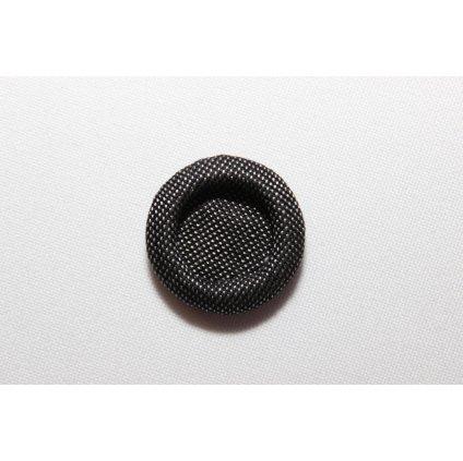 Knoflík ozdobný černý