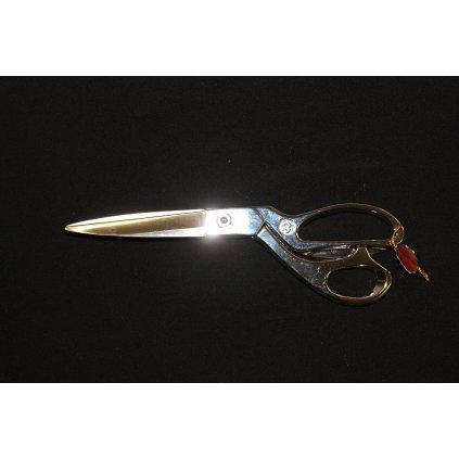 Nůžky krejčovské kovové stříbrné