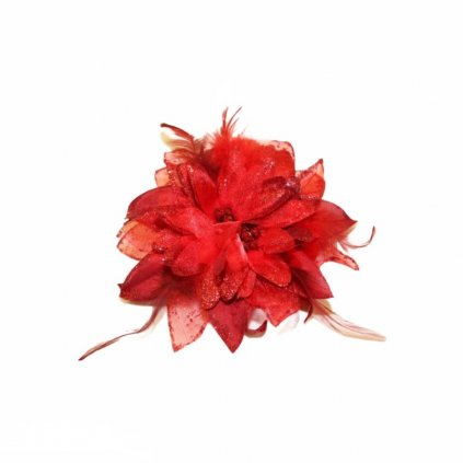 Kytka červená