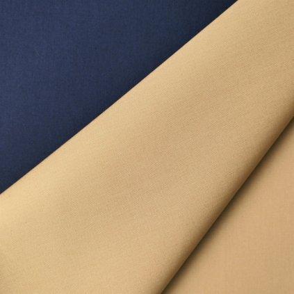 Plášťovka modro-béžová oboustranná