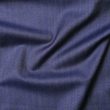 Kostýmovka modrá proužkovaná