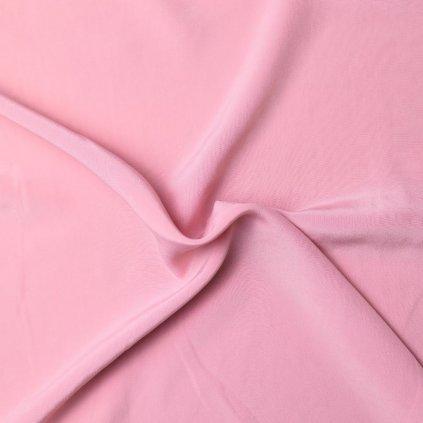 Hedvábí žoržetové baby pink