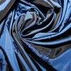 Taft vyšívaný modrý s palmami