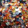 Flitrová látka různobarevná s hologramem
