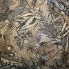 Látka s potiskem polyestrová béžová