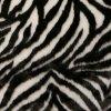 Kožešina dekorační se vzorem zebry