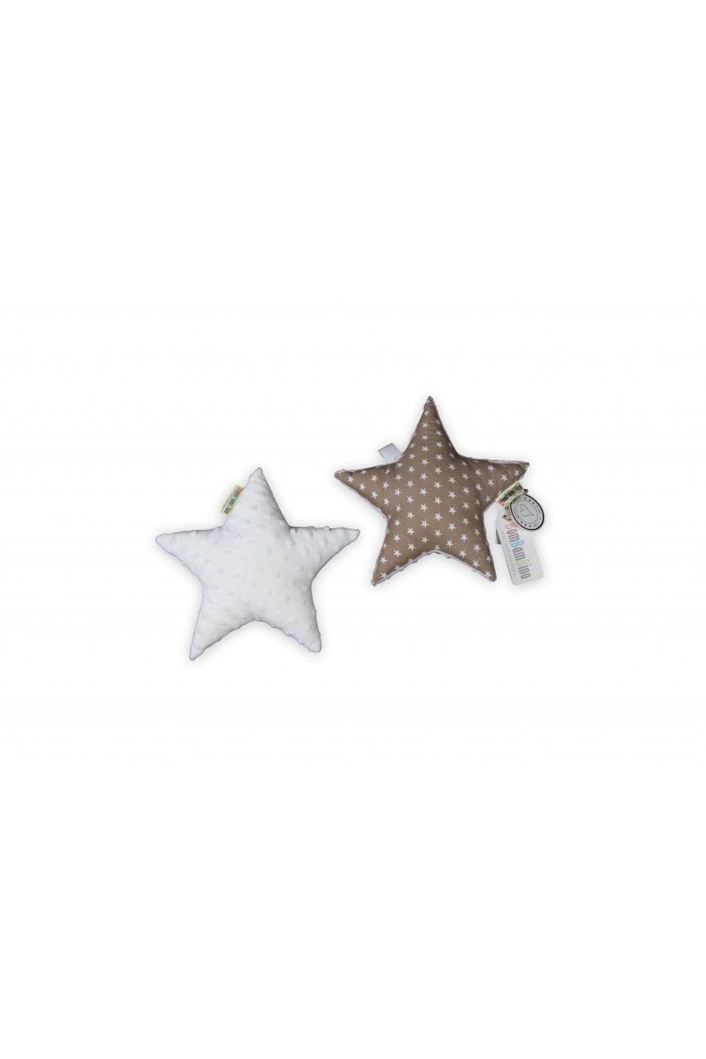 Polštářek hvězdička minky
