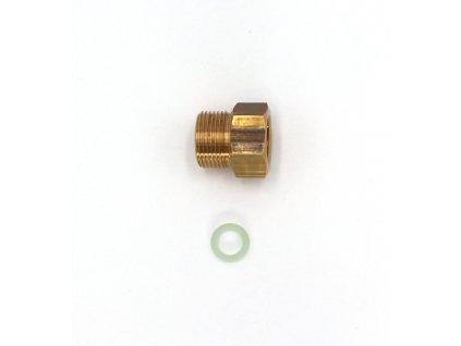 """Redukce pro ventil tlakové lahve CO2 - z W21,8x1/14"""" na G3/4"""""""