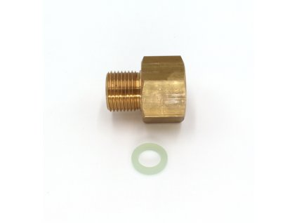 """Redukce pro ventil tlakové lahve CO2 - z G3/4"""" na W21,8x1/14"""""""