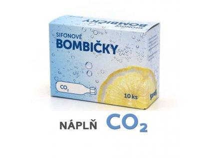 Bombičky sifonové (SIFOS) - výměna - náplň CO2 - 10 ks