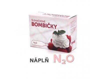 Bombičky šlehačkové výměnné (SIFOS) -  náplň N2O - 10 ks