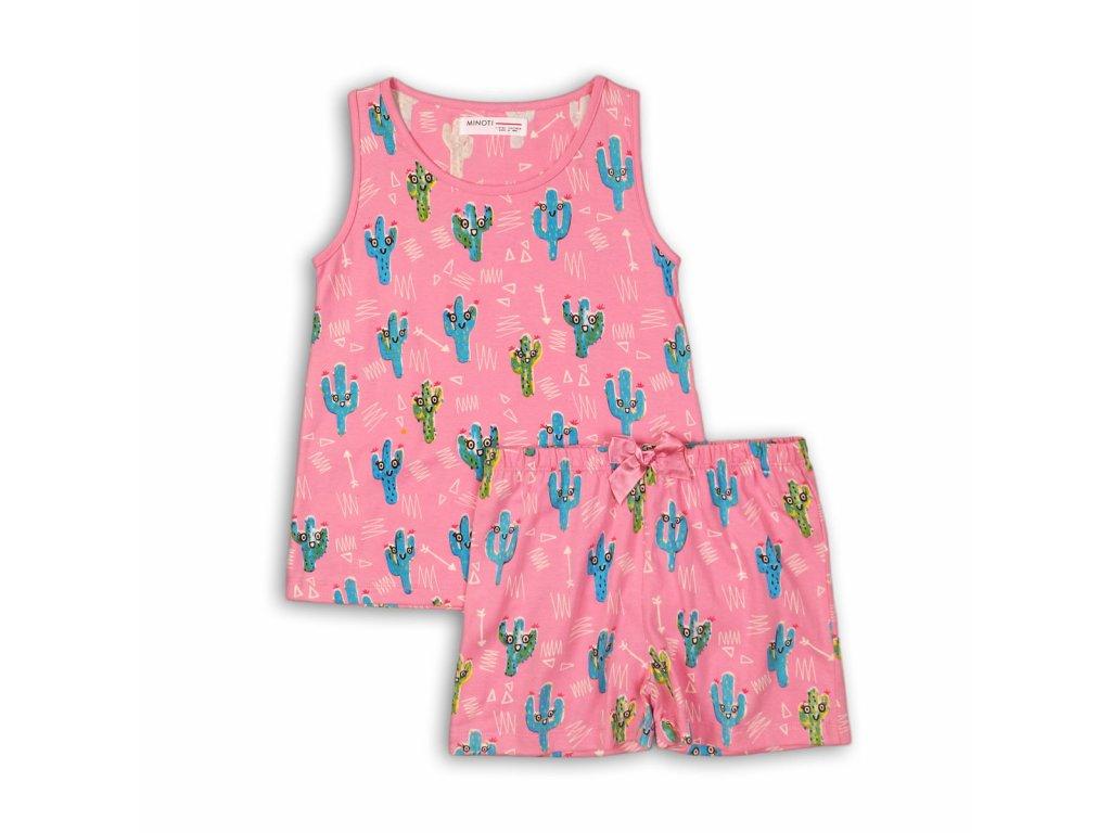 Pyžamo dívčí: kraťasy Junior růžová