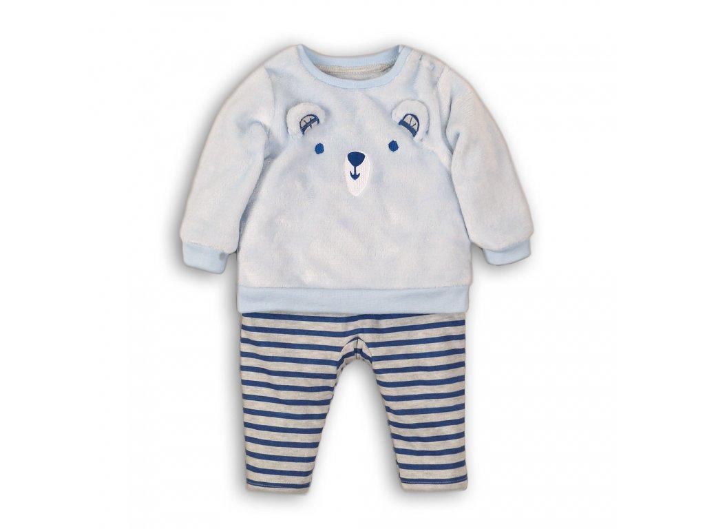 Kojenecký set, mikina a tepláky Baby světle modrá