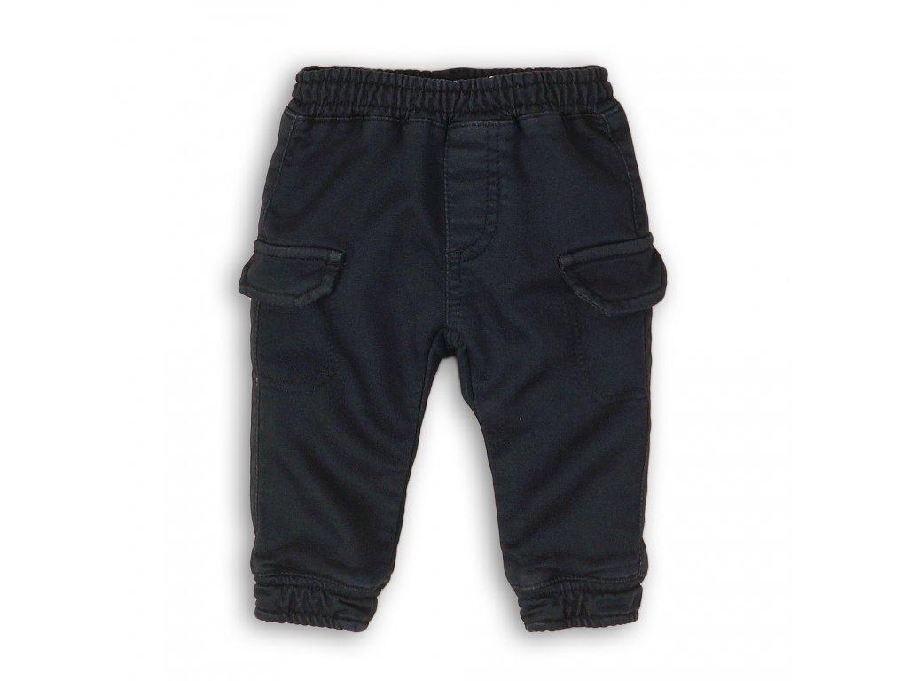 Kalhoty chlapecké s kapsami Baby tmavě modrá