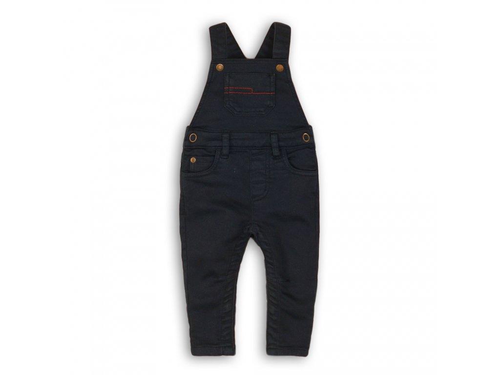 Kalhoty chlapecké s laclem Baby tmavě modrá