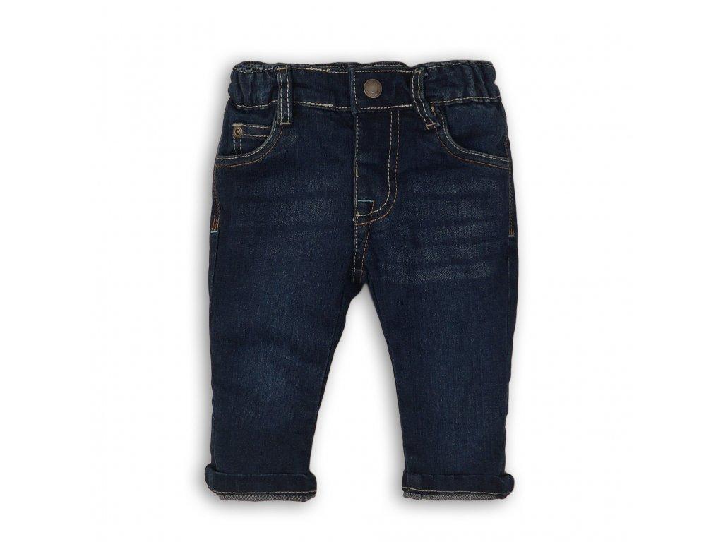 Kalhoty chlapecké džínové Baby tmavě modrá