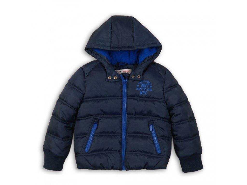 Bunda chlapecká Puffa Baby tmavě modrá