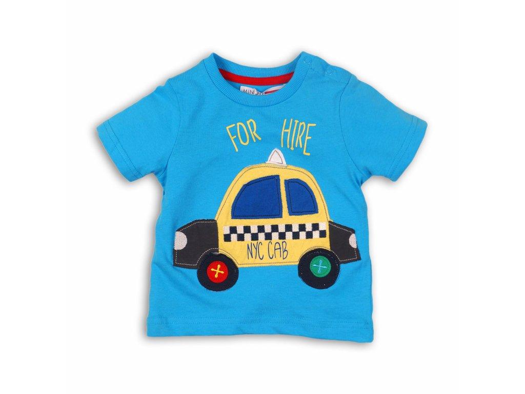 tričko chlapecké TAXI Baby světle modrá