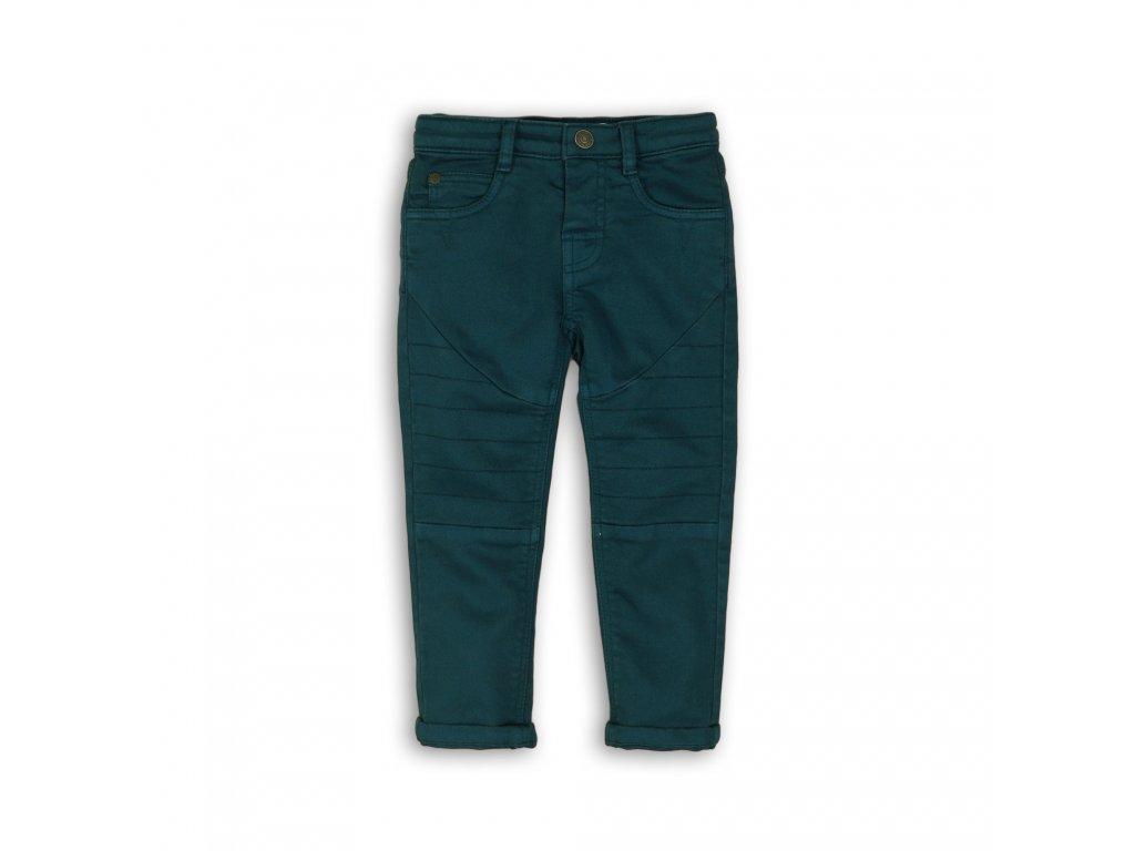 Kalhoty chlapecké s elastenem zelená