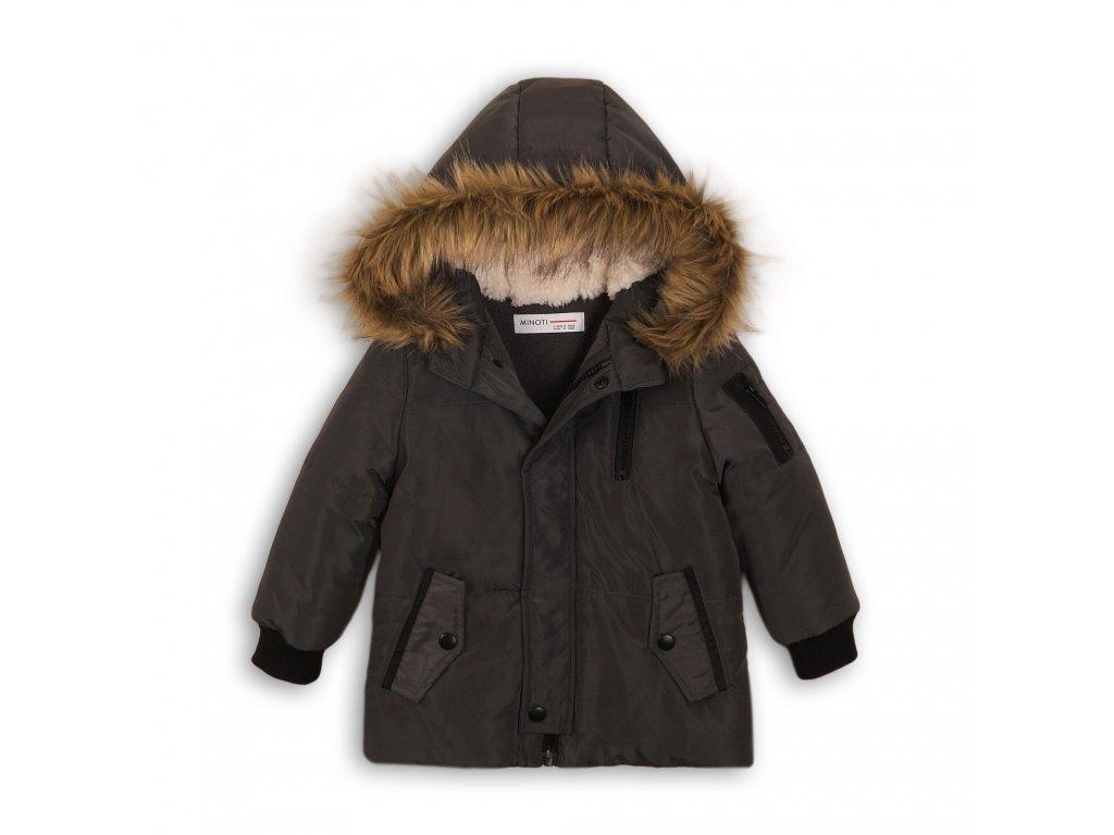 Kabát chlapecký zimní Parka antracit