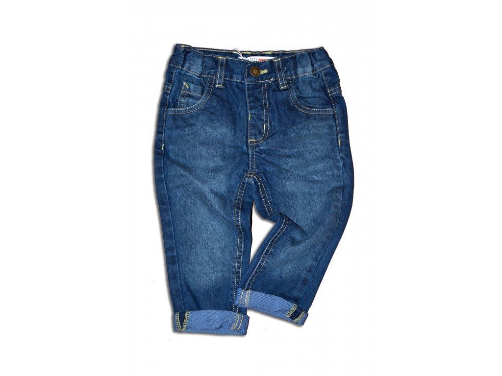 kalhoty riflové chlapecké Baby modrá