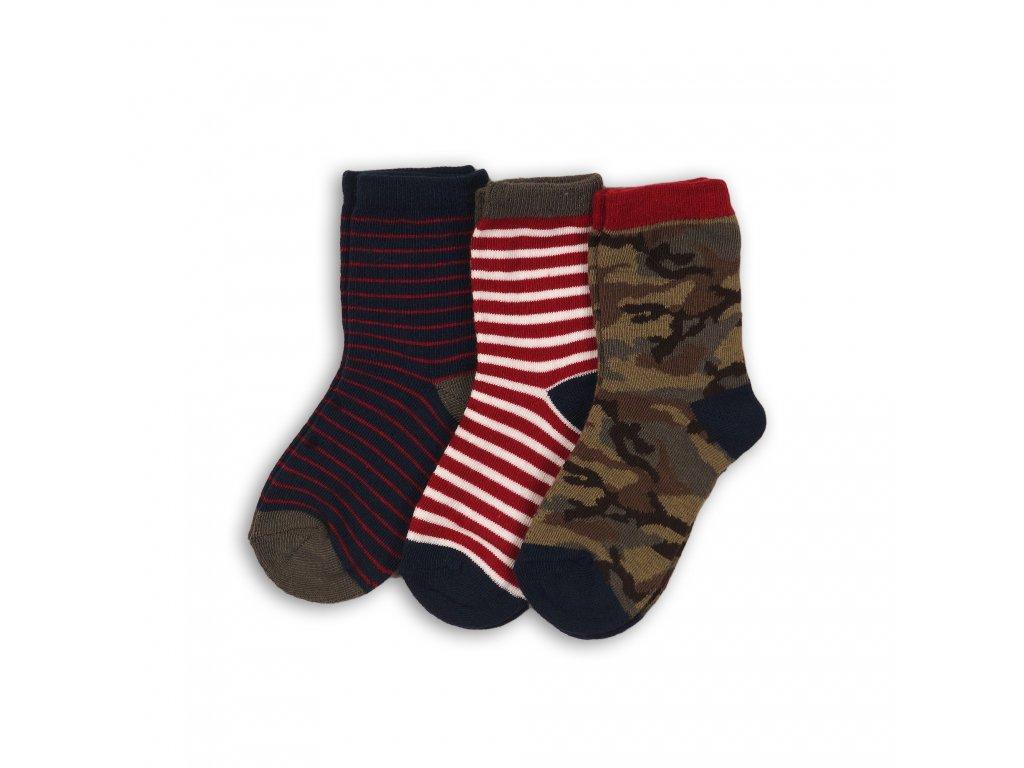 Ponožky chlapecké 3pack Baby kluk