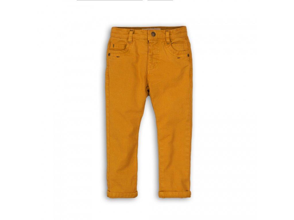 Kalhoty chlapecké s elastenem Baby žlutá