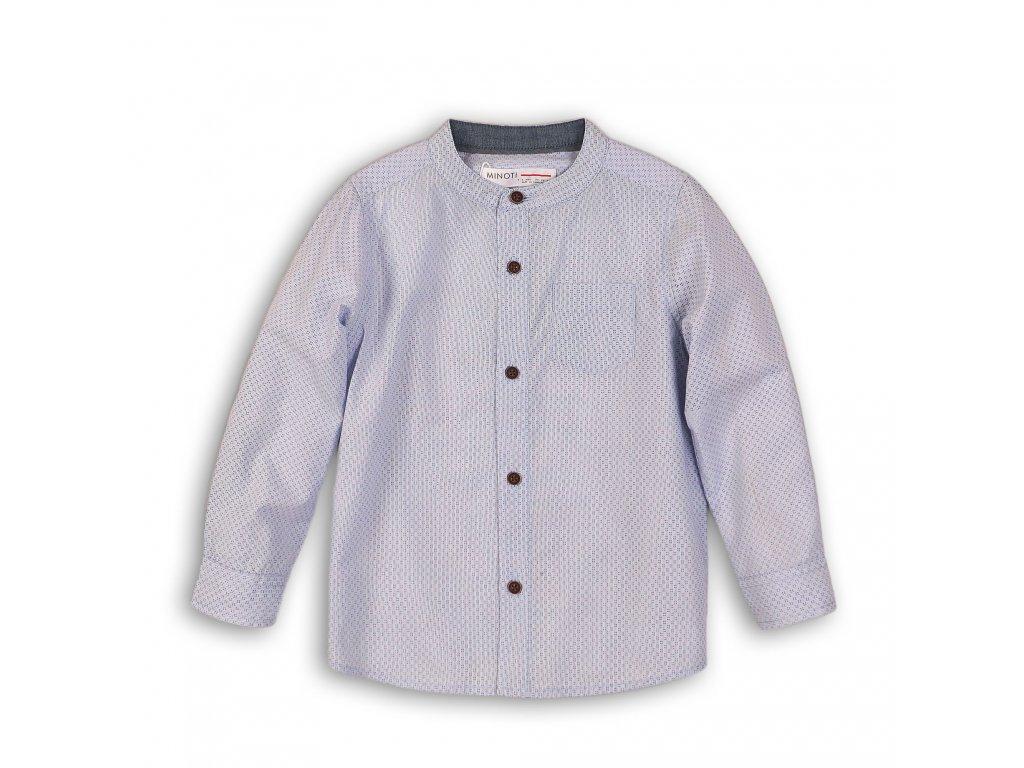 Košile chlapecká bavlněná Baby světle modrá