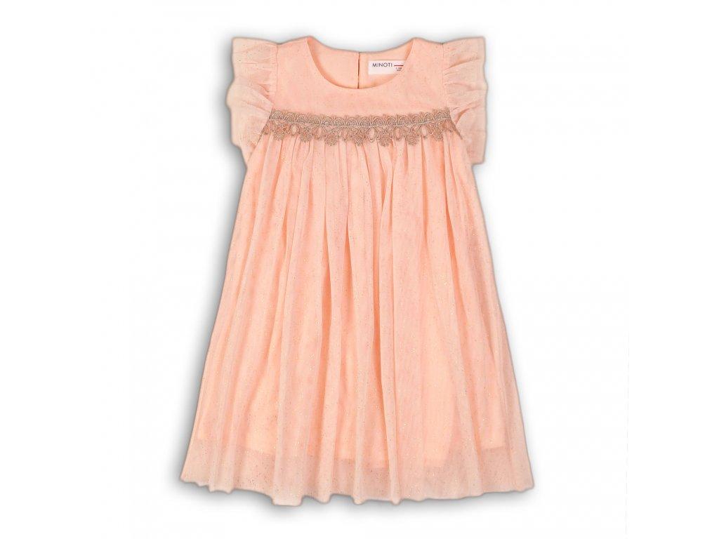 Šaty dívčí slavnostní Kids růžová