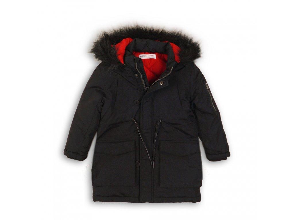 Kabát chlapecký zimní Parka Kids černá
