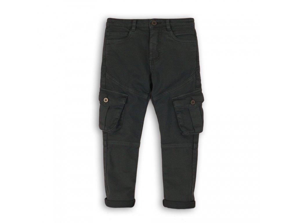 Kalhoty chlapecké s elastenem Junior antracit