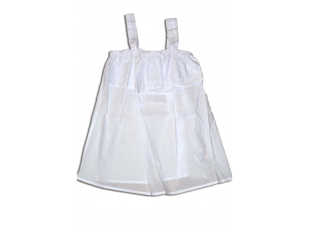 tričko TOP dívčí letní Kids bílá