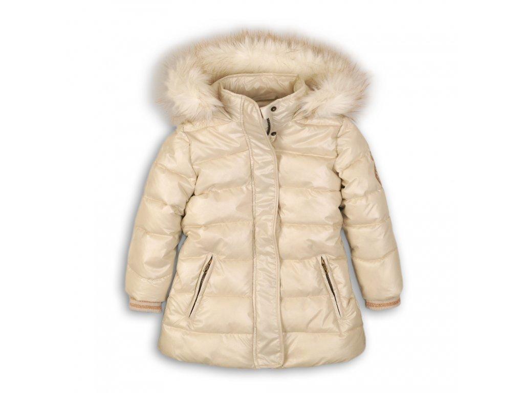Kabát dívčí zimní Puffa Junior béžová