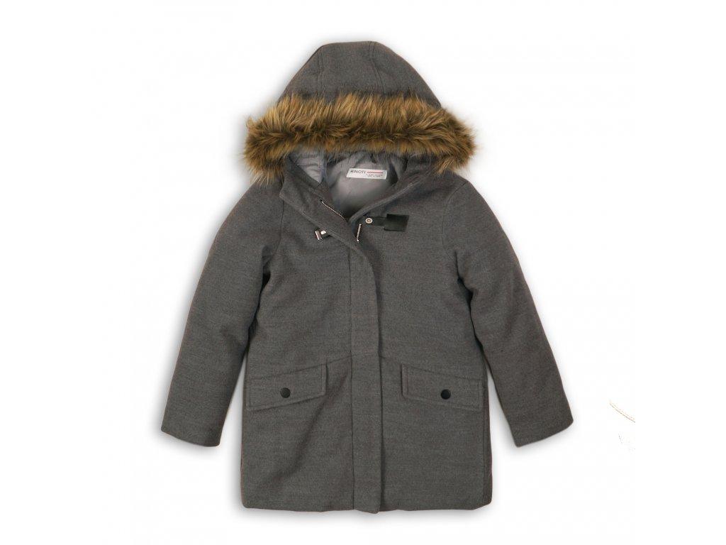 Kabát dívčí Junior šedá