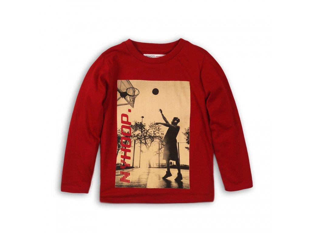 Tričko chlapecké s dlouhým rukávem Kids červená