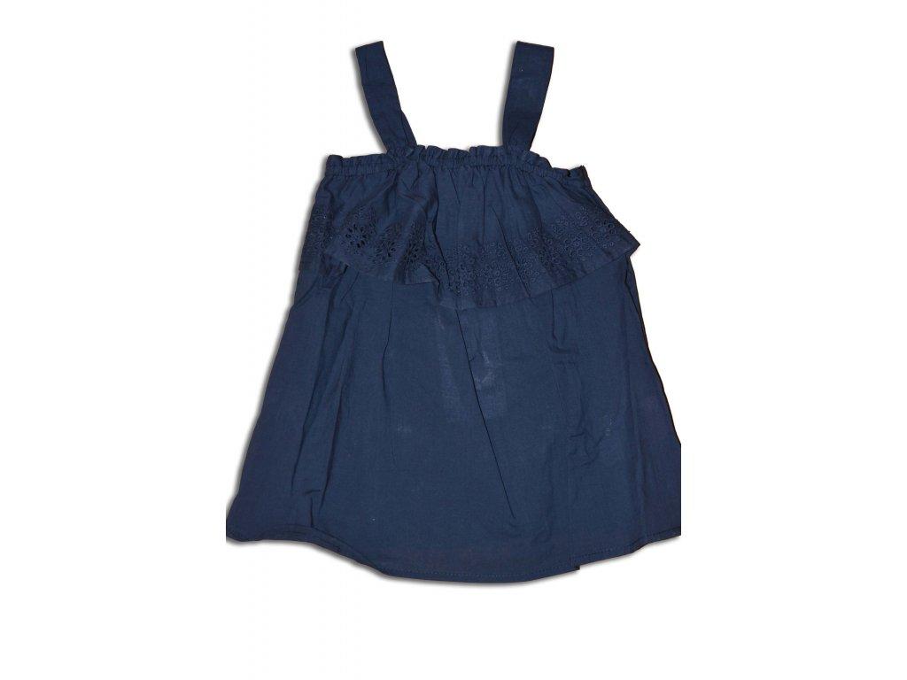 tričko TOP dívčí letní Kids tmavě modrá