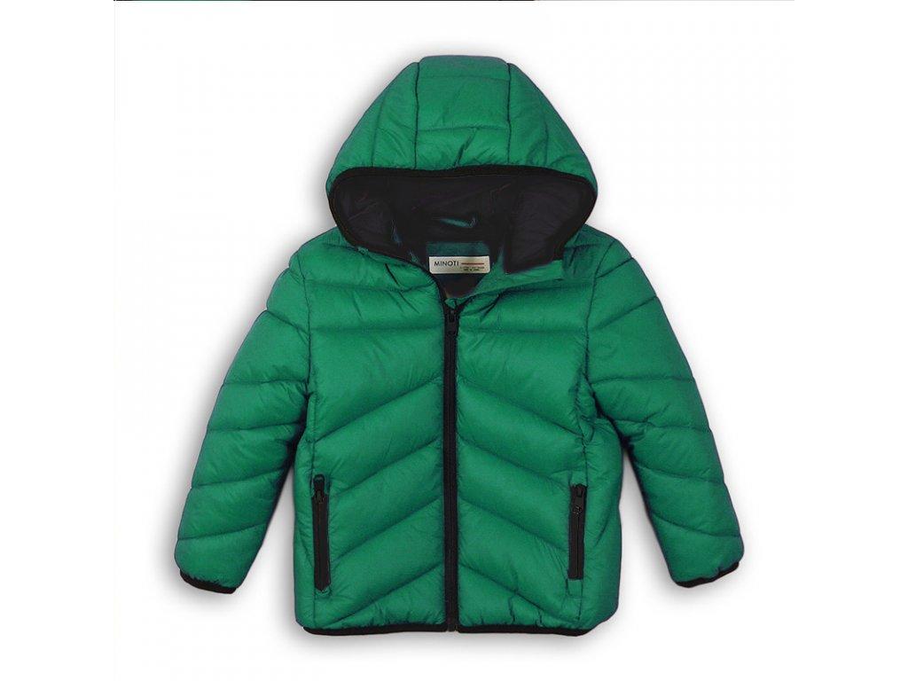 Bunda chlapecká Puffa Baby zelená