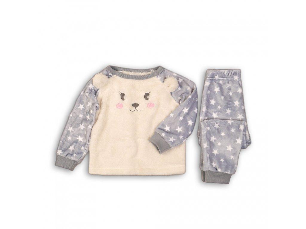 Pyžamo dívčí fleezové Baby holka