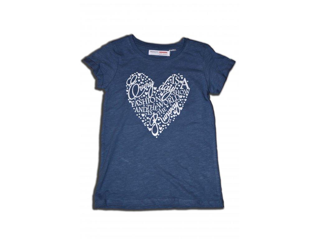 tričko dívčí letní Kids tmavě modrá